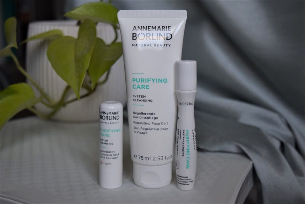 Annemarie Börlind : PURIFYING CARE System Cleansing