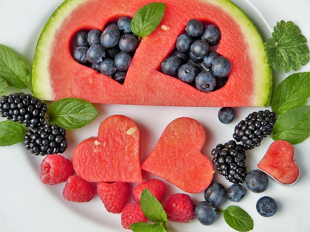 vhodná strava na akné